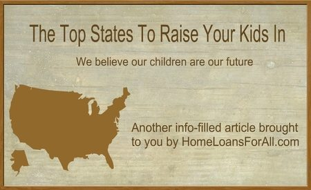 top states to raise your kids in