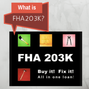 fha 203k loan, FHA 203k loan financing
