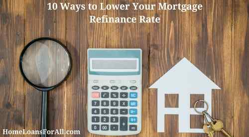 mortgage refinance rate