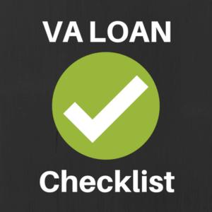 va loan checklist