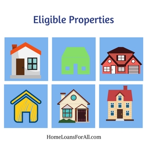 eligible properties va approved homes