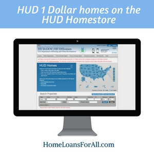 HUD homes for a dollar