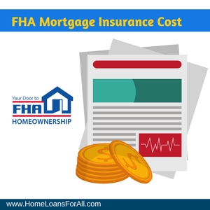 fha mortgage insurance cost