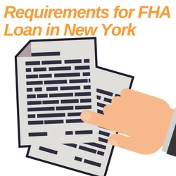requirements for fha loan in new york