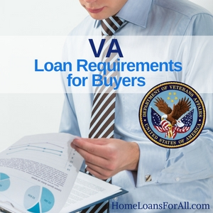 va loan requirements for buyers