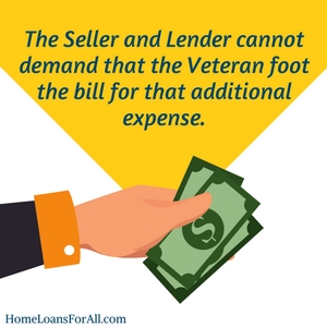 who pays the va appraisal fees_