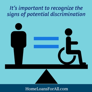 avoid discrimination find home loans for disabled