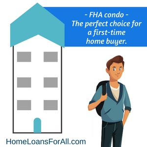 FHA approved condos first time home buyers
