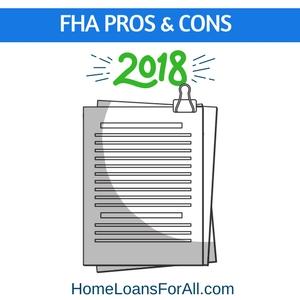 fha loans pros&cons
