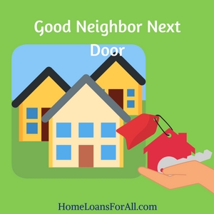 first time home buyer programs good neighbor next door