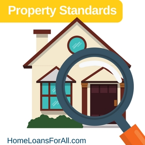property standards fha home loans