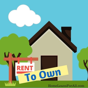 rent to own for bad credit home loans