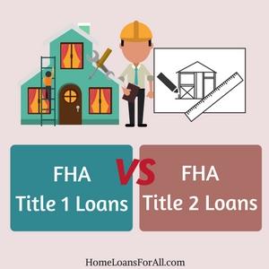 title 1 vs title 2 loans