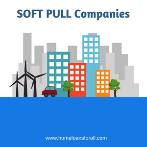 Soft pull credit services