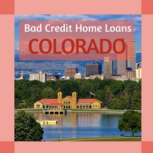 bad credit home loans colorado