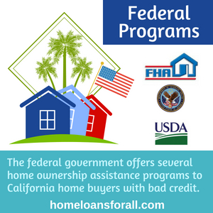 How to buy a house in California with bad credit