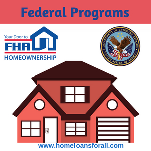 bad credit home loans austin federal programs fha va