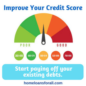 bad credit home loans el paso - improve your credit score