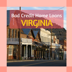 bad credit home loans in virginia