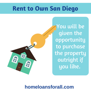 rent to own Bad credit home loan San Diego
