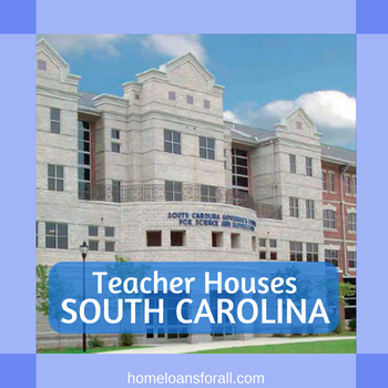 teacher houses in south carolina