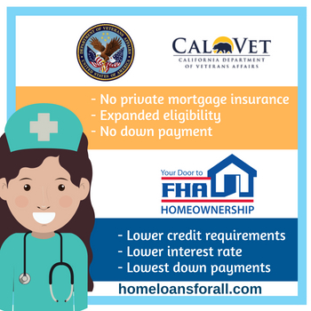 California home loan for nurses