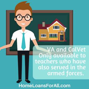 California teacher home loan with bad credit