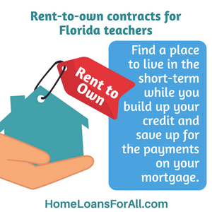 florida home loans teachers with bad credit