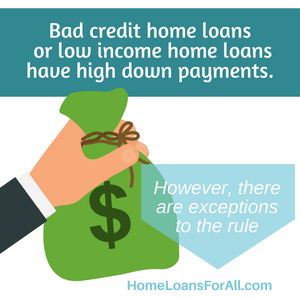 Home loans for teachers with bad credit in California