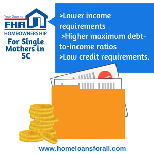 SC single mother home assistance
