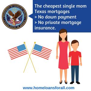 VA for single moms home loan