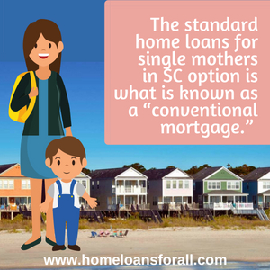 home loans for single mothers in South Carolina