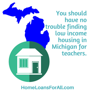 low income housing Michigan for teachers