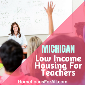 low income housing in Michigan for teachers