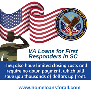 va loans for sc first responder